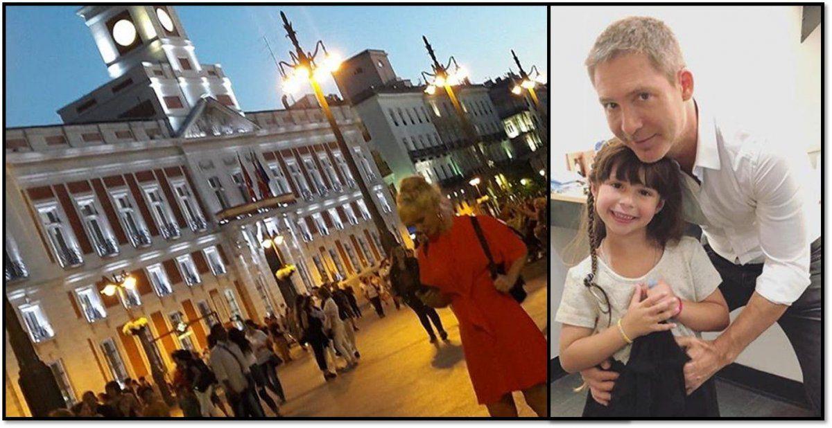Griselda Siciliani se fue a Madrid, y Suar a Nueva York con Margarita