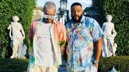 J Balvin se unió a DJ Khaled en el poscast The First One