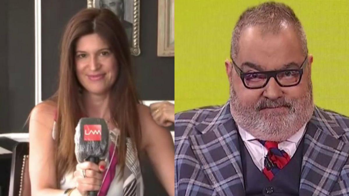 Ángel de Brito se sorprendió en vivo al darse cuenta que entrevistaba a la nueva novia de Jorge Lanata