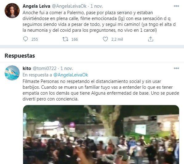 Ángela Leiva hizo un descargo a quienes la criticaron por publicar un video