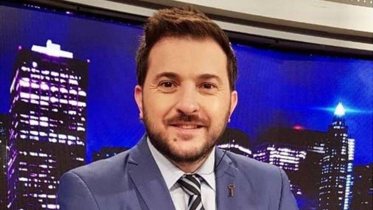 El periodista Diego Brancatelli fue internado hace unas horas en un Sanatorio de Palermo