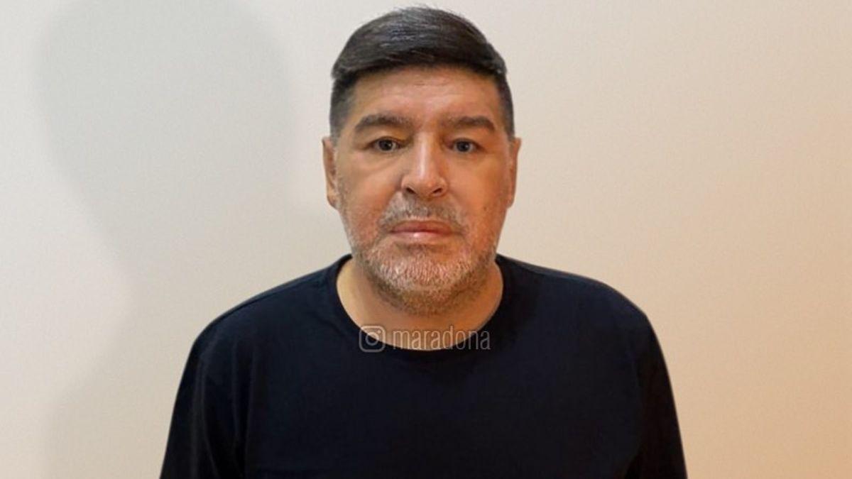 Diego Maradona a sus hijas y Fernando  Burlando: Preso, las pelotas