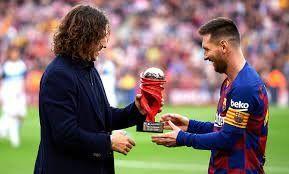 ¡Secreto a voces! Lionel Messi le habló claro a Carles Puyol