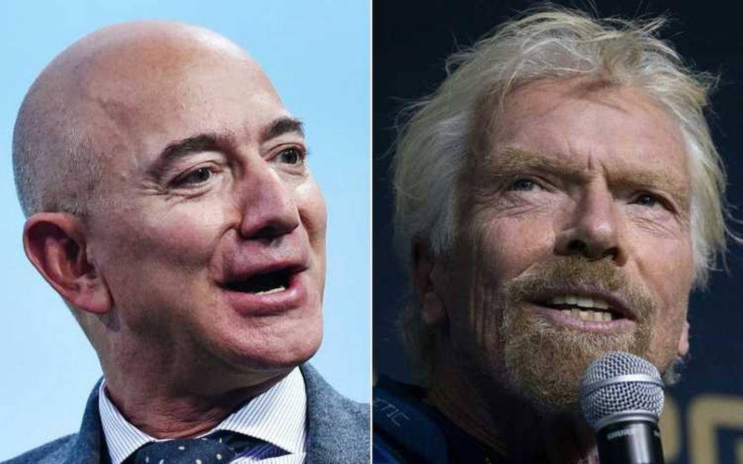 Para Jeff Bezos, Richard branson no voló lo suficientemente alto para llegar al espacio