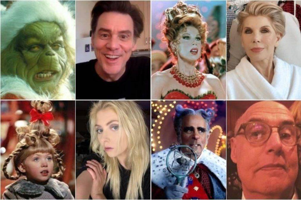 Así se ven los actores de El Grinch