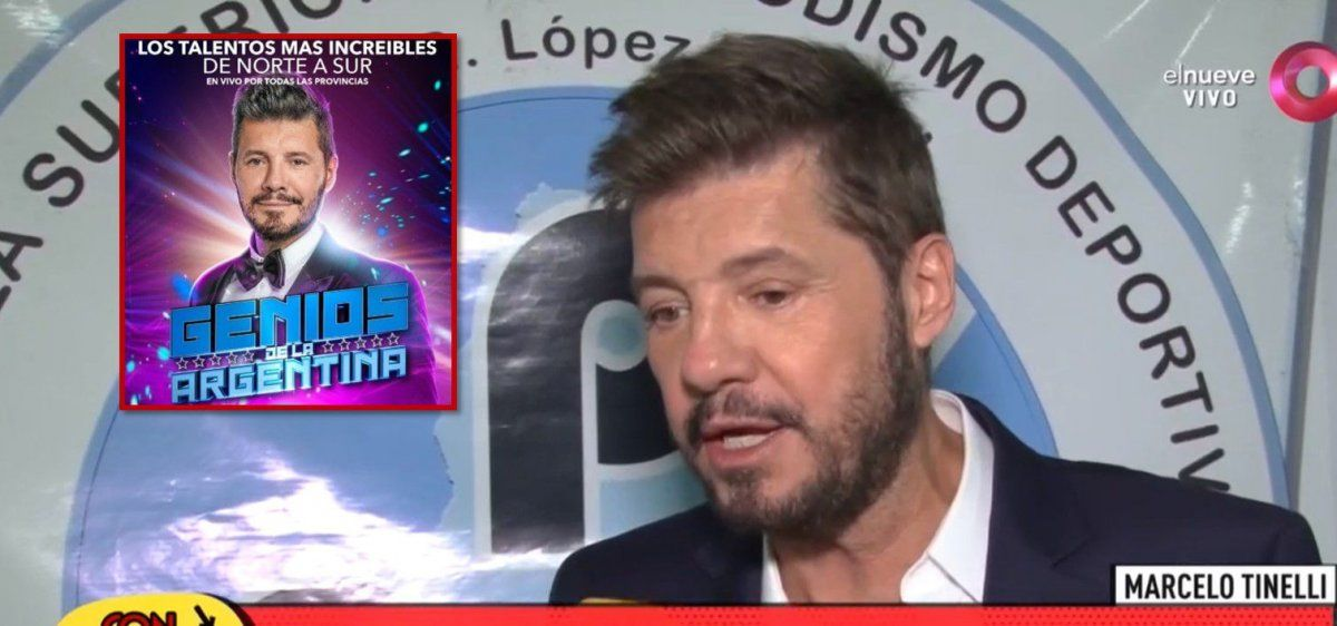 Marcelo Tinelli explicó por qué no pudo seguir haciendo el formato Genios de la Argentina