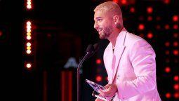¡Todo Maluma! El colombiano abrió los Latin Billboard y también fue reconocido
