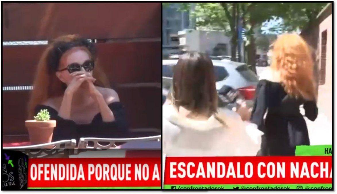 Nacha Guevara fue a la presentación de Morir de amor y la dejaron afuera del trailer: ¿venganza por ir a Showmatch?