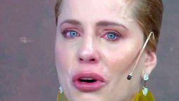 Agustina Kämpfer casi llora en su despedida