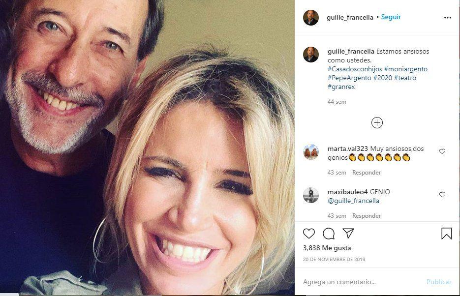 Hace casi un año Guillermo Francella y Florencia Peña anunciaban por redes sociales el regreso de Casados con hijos