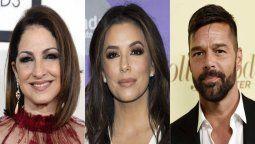 ¡Más apoyo latino! Eva Longoria encabeza evento con Gloria Estefan y Ricky Martin