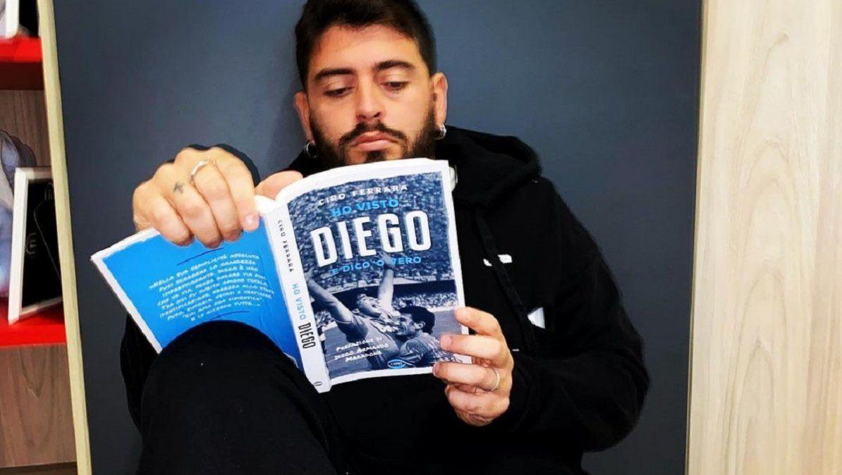 ¿Diego Junior trabajará en una televisora de la Argentina?