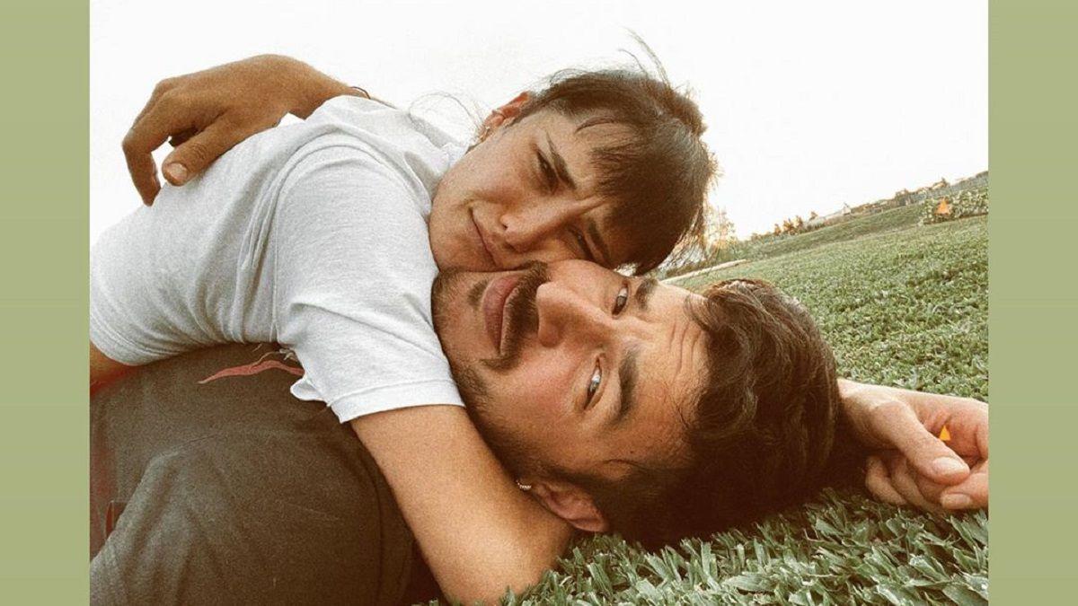 Flor Torrente y su novio Guido Iannaccio