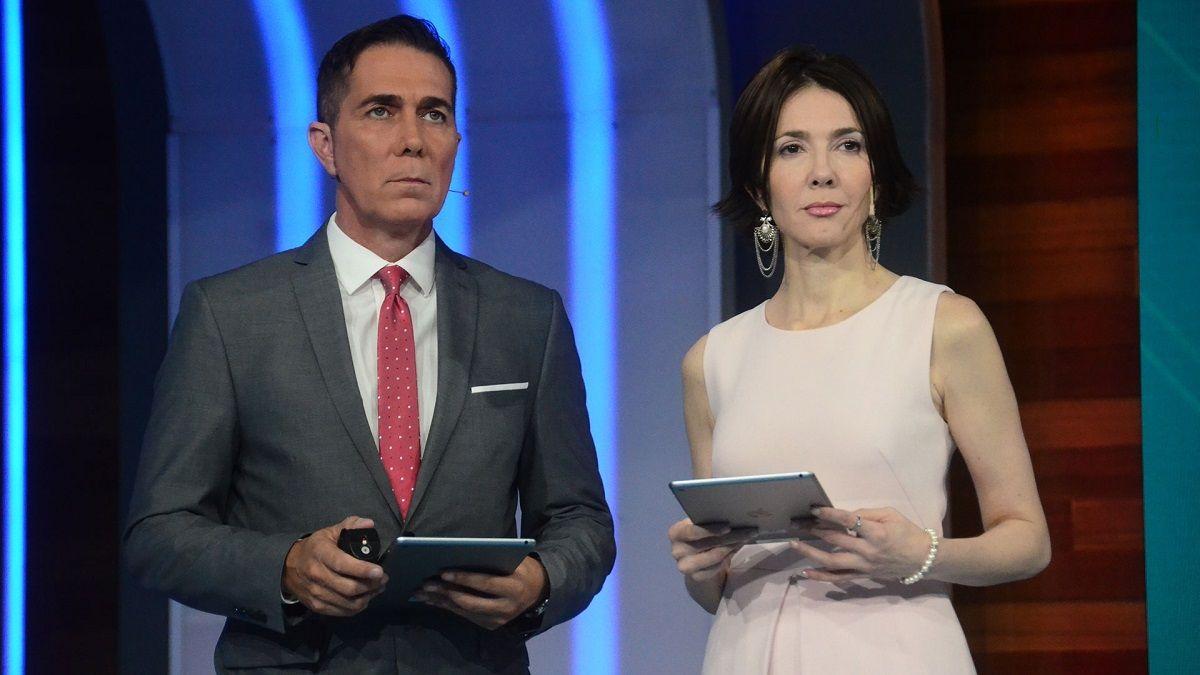 Cristina Pérez y Rodolfo Barili recibieron resultados del hisopado al aire de Noticias Telefe