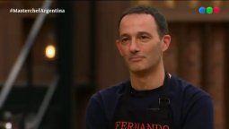MasterChef Celebrity: Fernando Carlos quedó afuera del reality