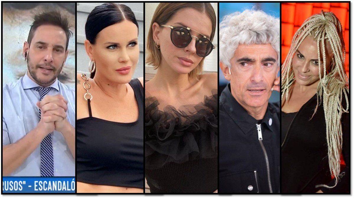 Escandalones: el posteo privado de Natalie Webber contra la China Suárez; las fotos de Daniela Cardone pelada y las de Posca convertido en viejas