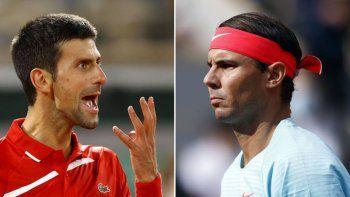 ¡Se molestó! Rafa Nadal le lanzó a Novak Djokovic