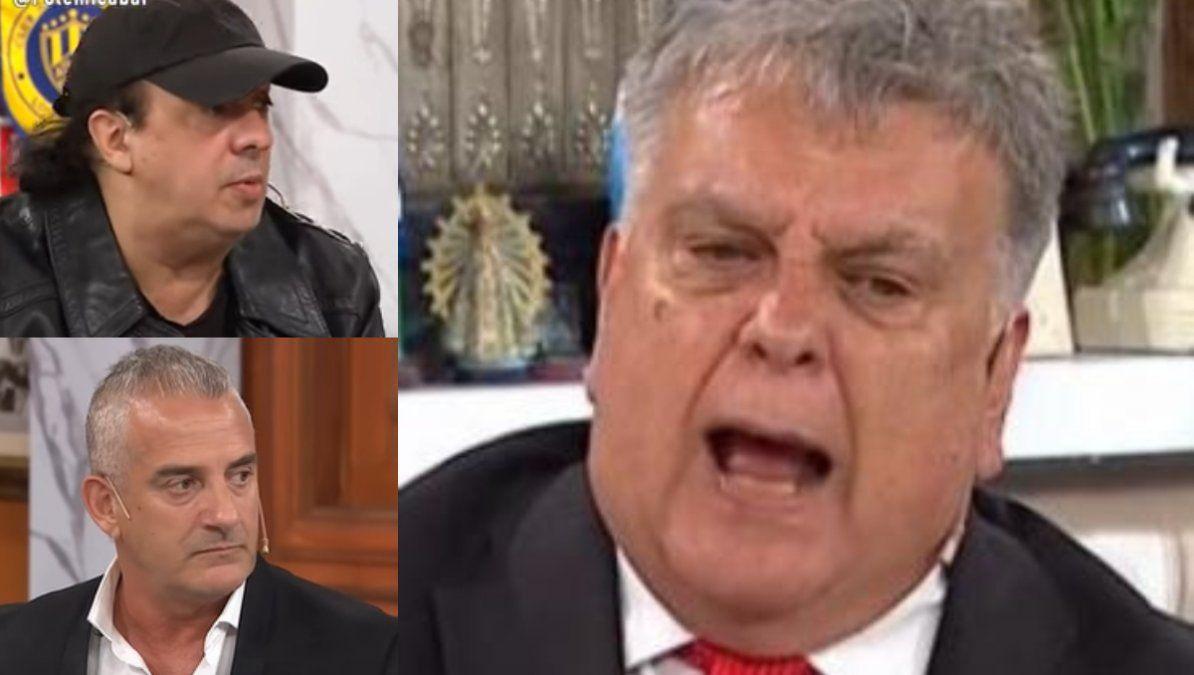 Luis Ventura tuvo un fuerte cruce con los amigos de Maradona