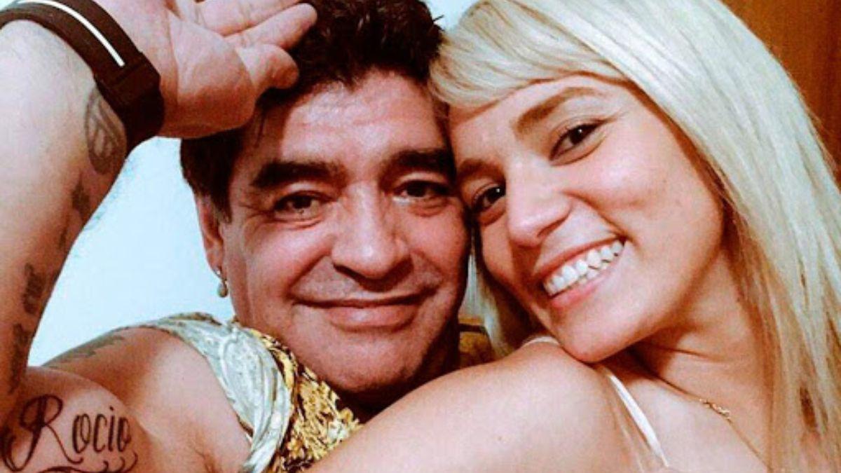 Rocío Oliva descartó la posibilidad de volver con Diego Maradona: Ya está