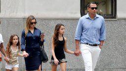¡Difícil olvidar! Alex Rodriguez invitó a Jennifer Lopez al cumpleaños a de su hija