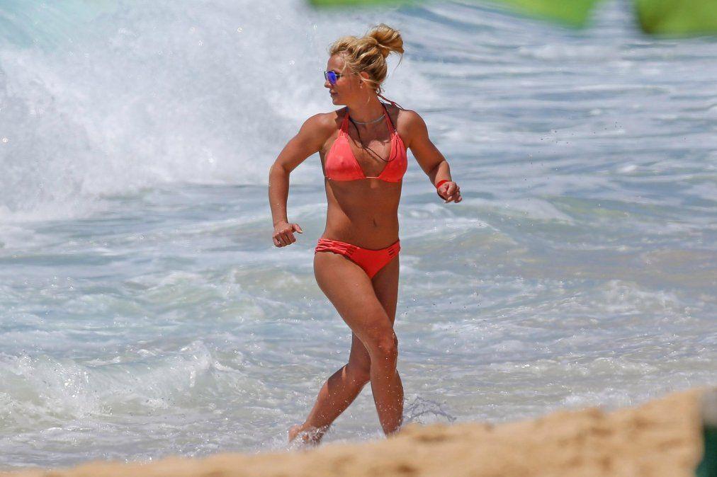 Britney se fue de vacaciones