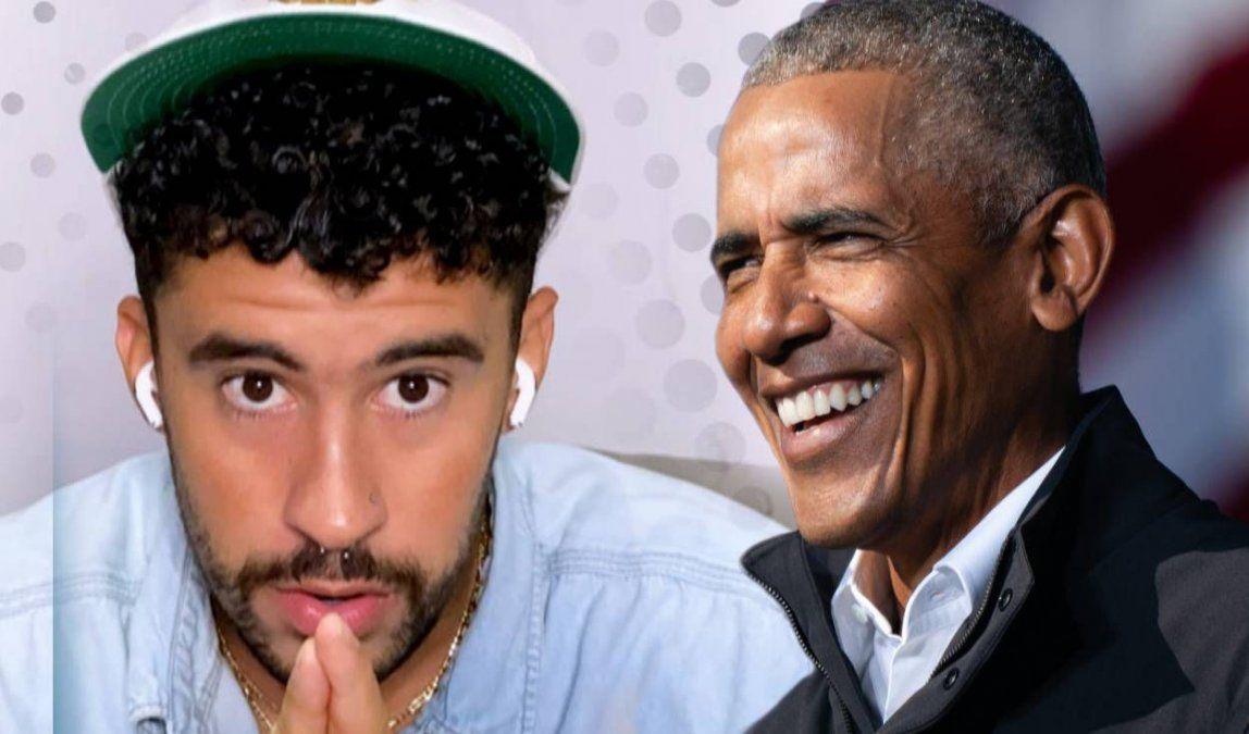 ¡Metido en todo! Bad Bunny fue escuchado este año por Barack Obama