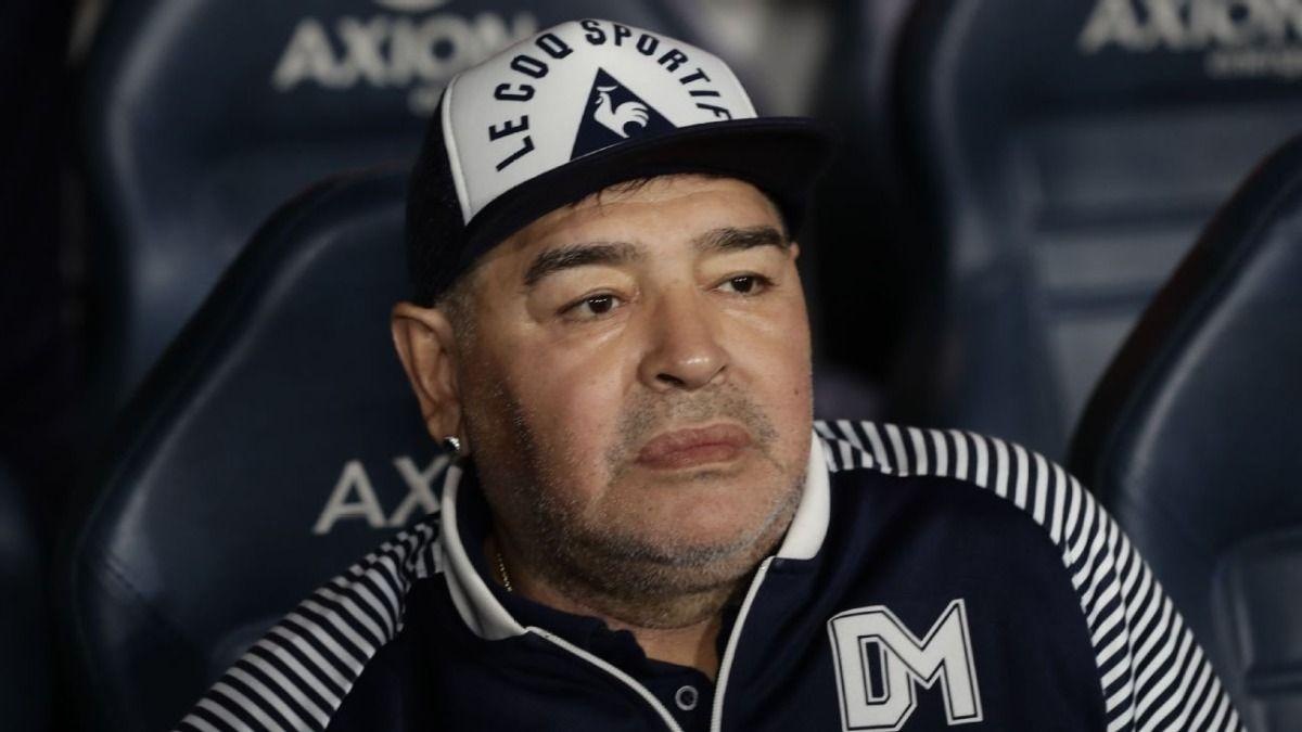 La polémica imagen de Diego Maradona que compartió Ángel de Brito