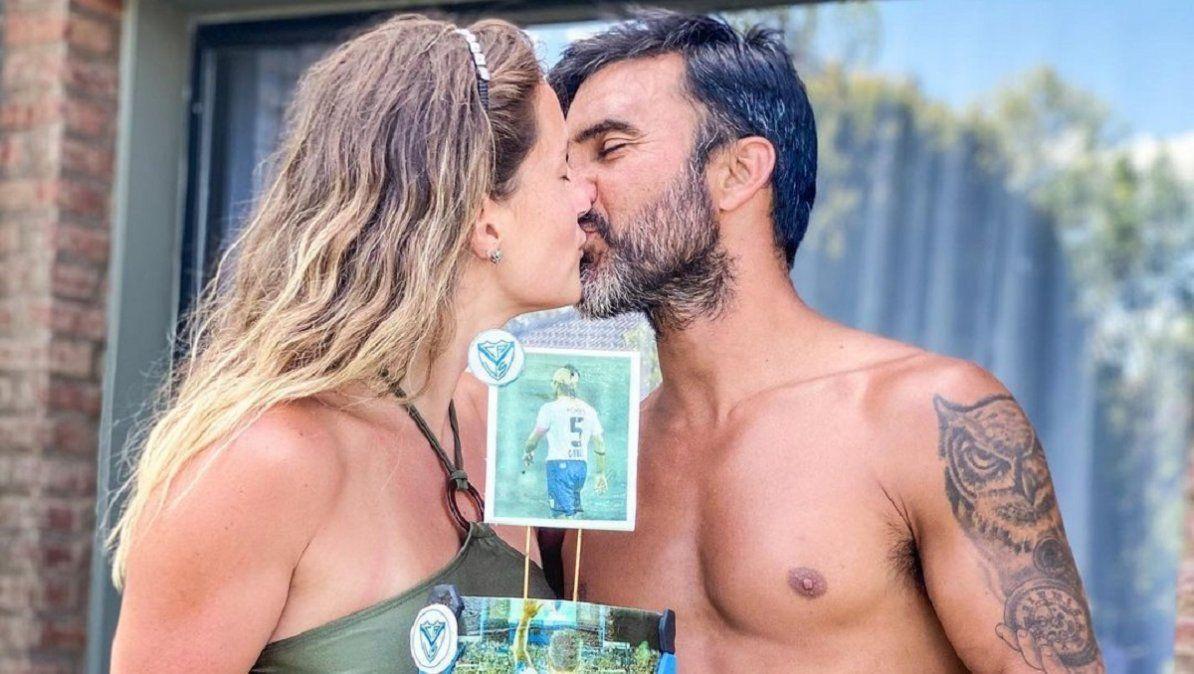 Mica Viciconte saludó a Fabián Cubero en su cumpleaños