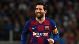 El jugador Lionel Messi sentenció el descenso del Espanyol a la segunda división