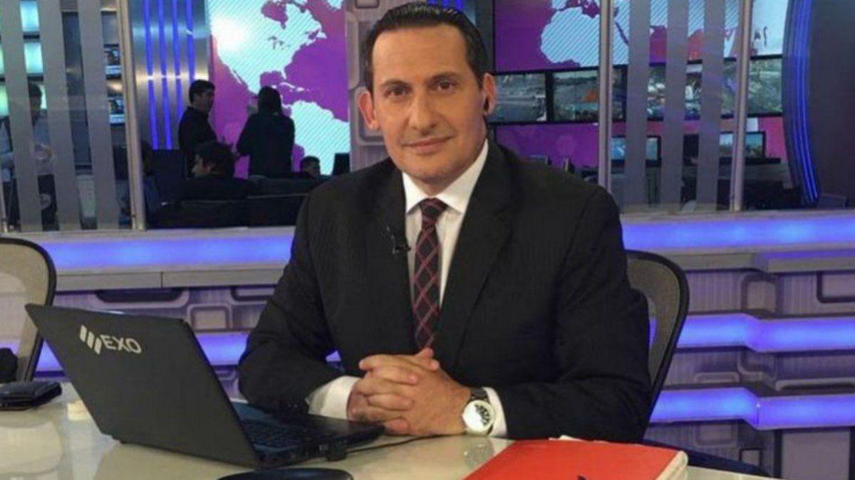 El periodista Paulo Kablan se infectó de Covid 19 por segunda vez.