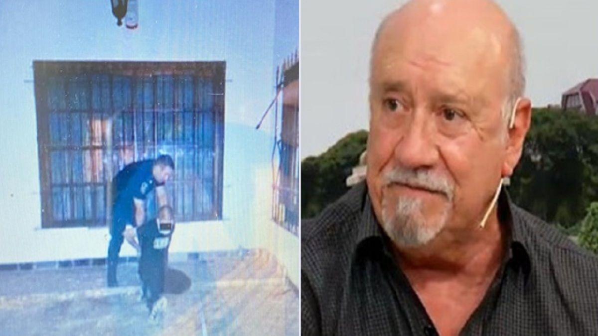 Tiroteo y persecución tras robo en la casa de Osvaldo Santoro