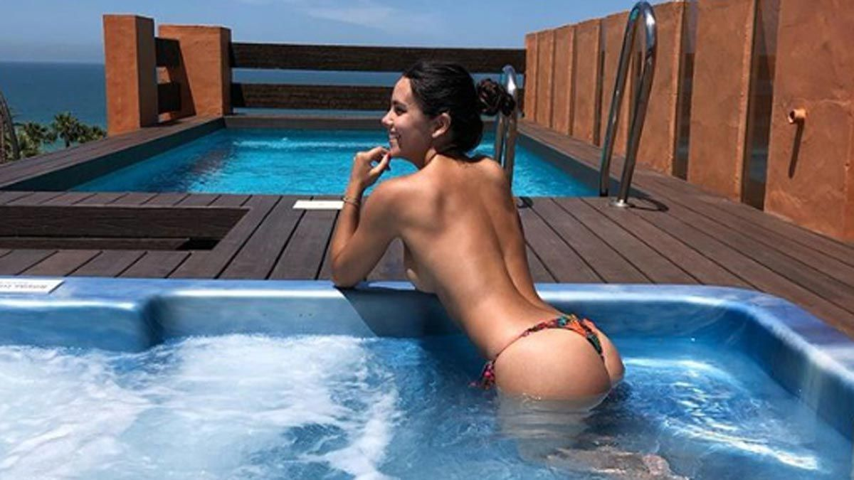 ¡Volvió a mostrar! Cristina Pedroche no tuvo pena para mostrar su bikini