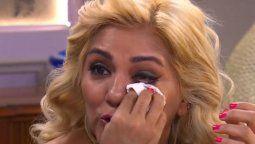 Gladys La Bomba Tucumana hasta las lágrimas al hablar de su madre enferma