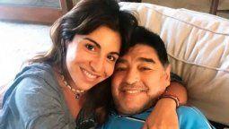 Gianinna Maradona lleva a la justicia a Rodrigo Lussich
