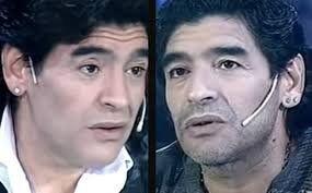 ¡Inédito! El día en el que Diego Maradona se entrevistó a él mismo