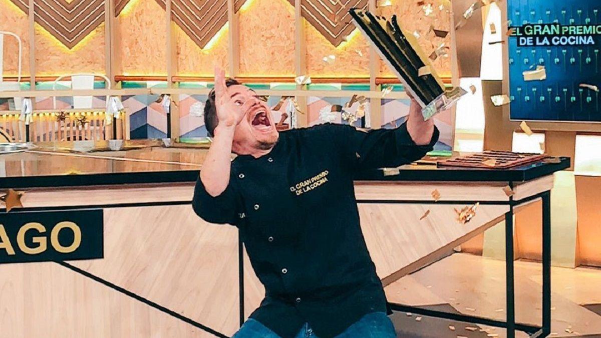 Santiago es el ganador de El Gran Premio de la Cocina