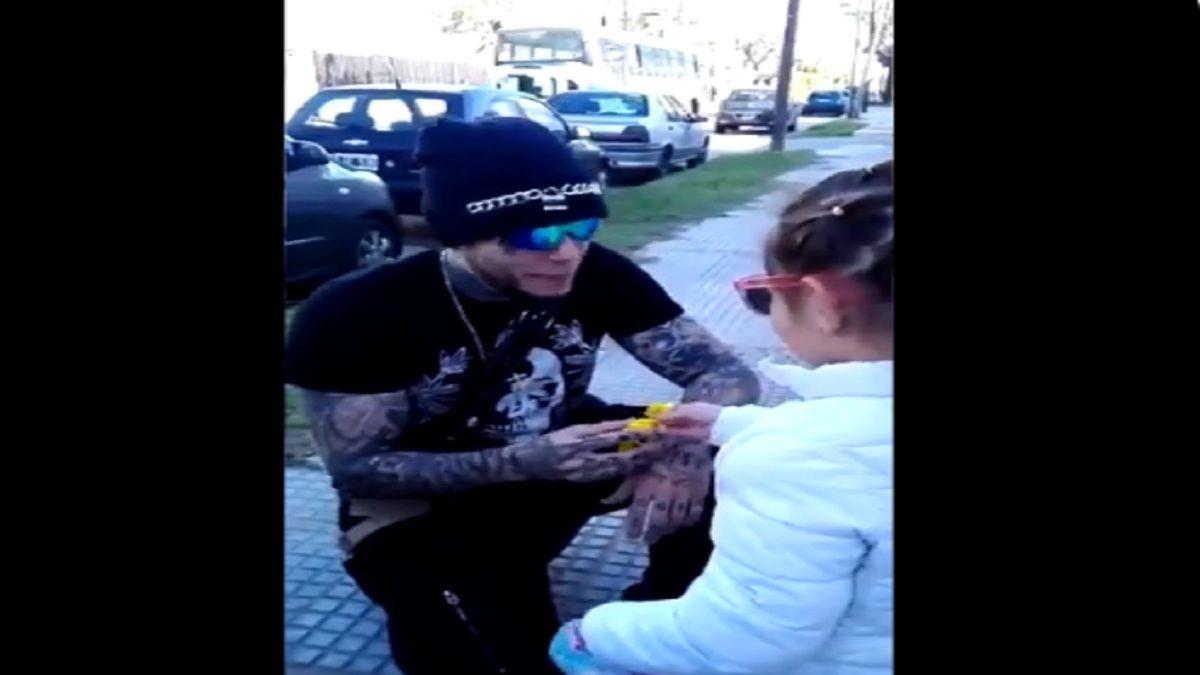 Sape Alex Caniggia se hizo viral con este video
