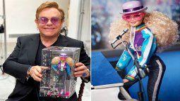 ¡En forma de Barbie! Elton John quedó inmortalizado en la famosa muñeca