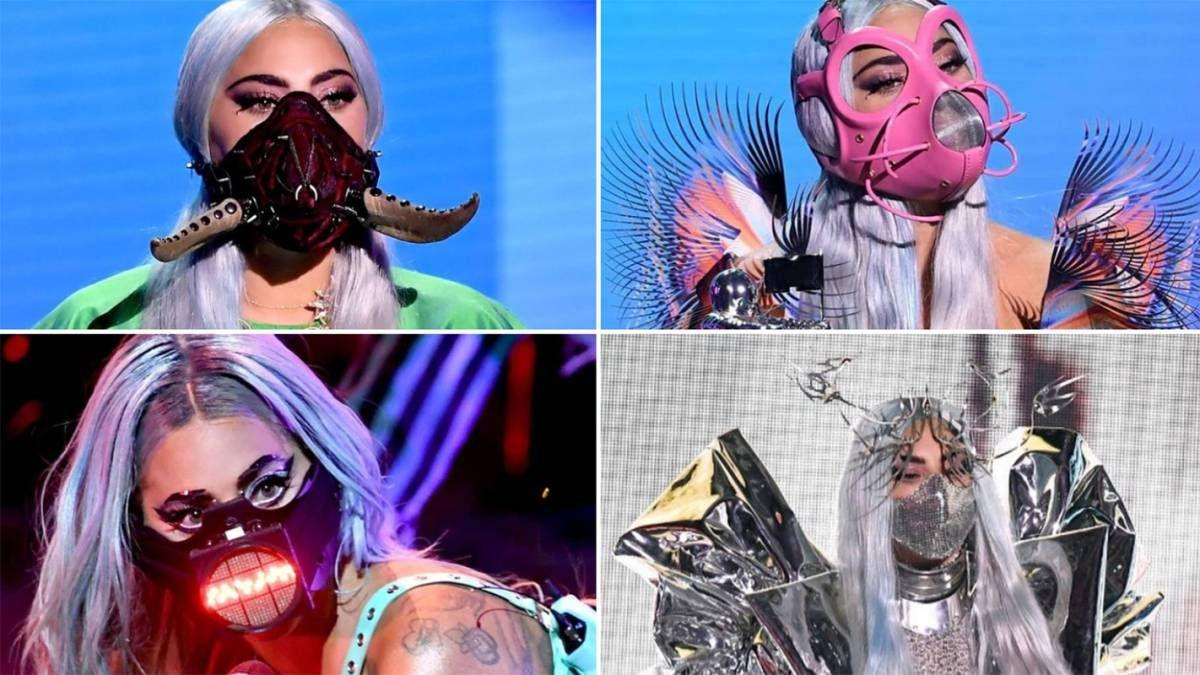 ¡De calidad! Lady Gaga usó mascarillas diseñadas por españoles