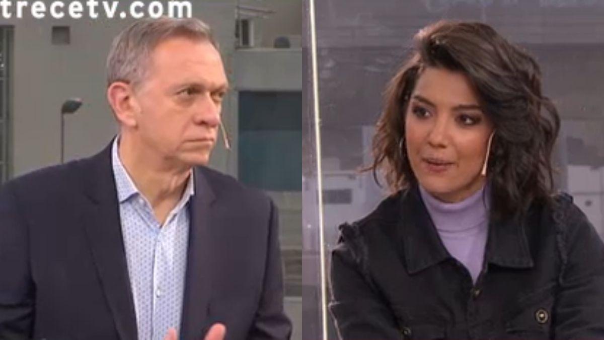 Jimena Grandinetti se sorprendió con la respuesta de Marcelo Bonelli sobre el amor libre