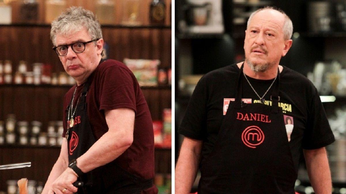 Masterchef Celebrity: Daniel Aráoz y Juanse en un cruce por un canasto