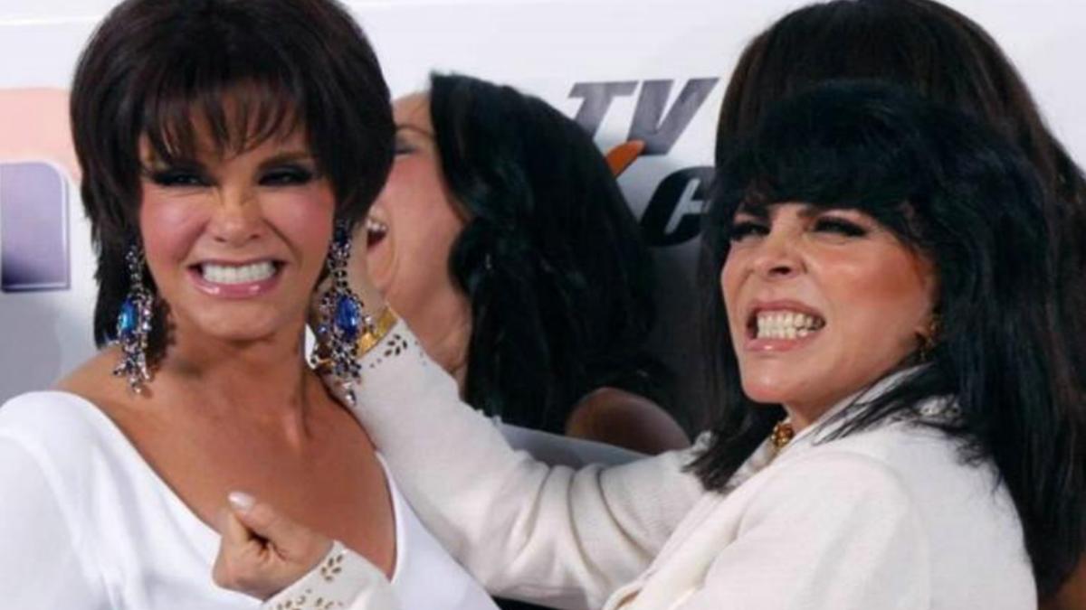¿Vuelve la rivalidad? Lucía Méndez intentó golpear el ego de Verónica Castro