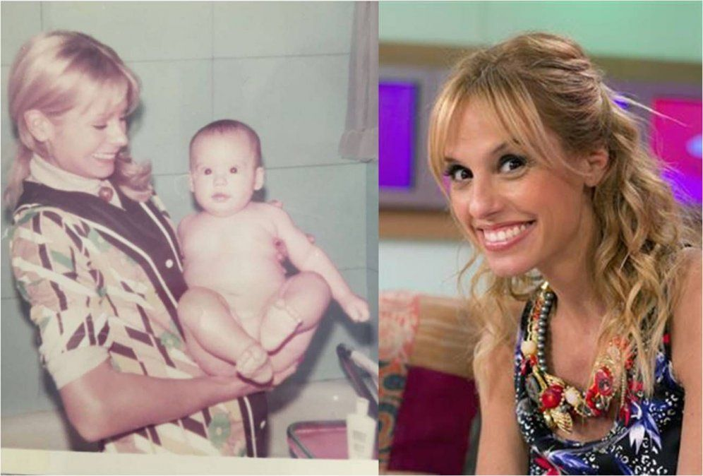 Exitosa famosa de la TV actual publicó una foto retro con su madre: El bebé gigante soy yo