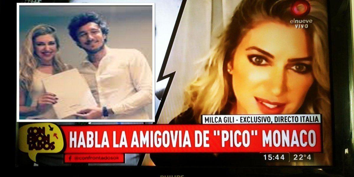 Milca Gili habló por primera vez: ¿fue la tercera en discordia entre Pico Mónaco y Pampita?