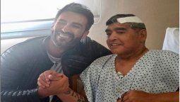 Leopoldo Luque informó que el alta de Diego Maradona ya está firmado