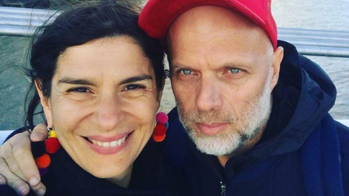 Sebastián Wainraich junto a su esposa la también comediante Dalia Gutmann