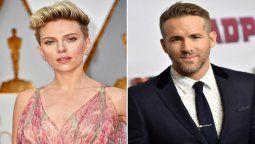 Ryan Reynolds y Scarlett Johansson están por estrenar sus películas