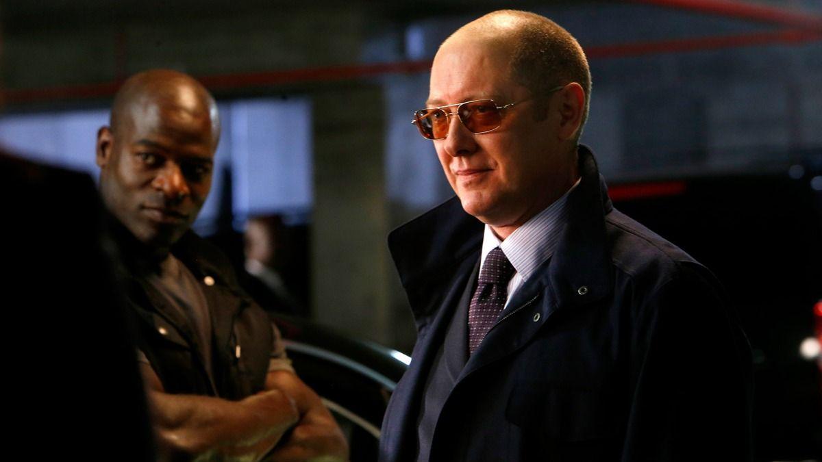 James Spader interpreta aRaymond Red Reddington en la serie The Blacklist