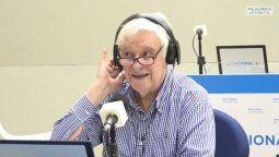 El locutor Héctor Larrea se despidió de la radio tras 60 años de carrera