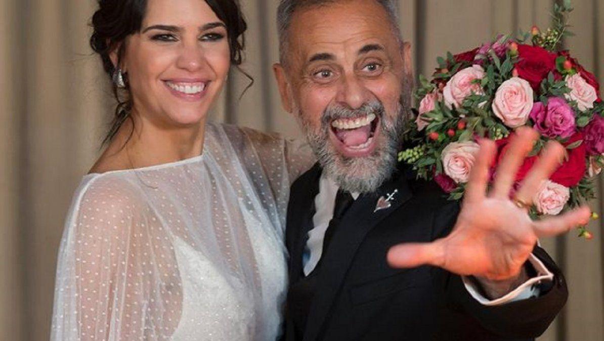 Los mensajes de amor de Jorge Rial y Romina Pereiro por su aniversario